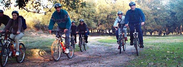 Rutas bicicleta de montaña extremadura